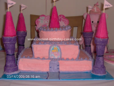This Princess Castle Cake Was Made For My Granddaughter Jaylie Her First Birthday She Is Our Little And Deserved A Party