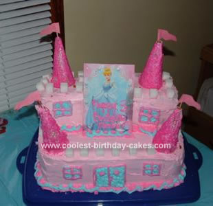 Remarkable Coolest Princess Castle Cake Funny Birthday Cards Online Alyptdamsfinfo