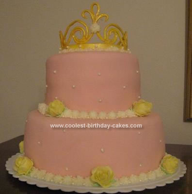 Remarkable Coolest Homemade Crown Cakes Funny Birthday Cards Online Elaedamsfinfo