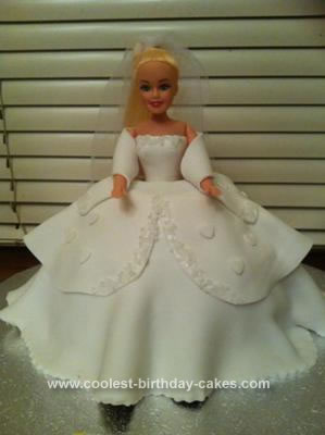 Homemade Princess Doll Cake