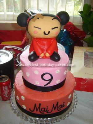 Homemade Pucca Cake