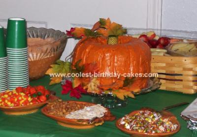 Lil' Pumpkin Cake