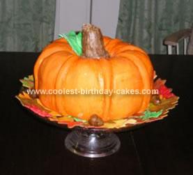 Homemade Pumpkin Cake