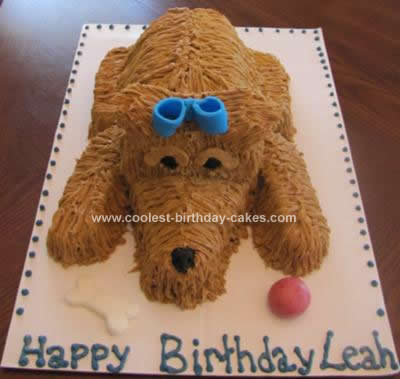 Fabulous Coolest Puppy Birthday Cake Funny Birthday Cards Online Overcheapnameinfo