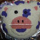 Homemade Purple Cow Cake