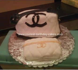 Homemade  Purse and Wallet Cake