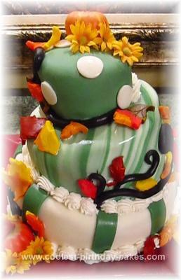 Homemade Quirky Birthday Cake