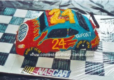 Jeff Gordon's Race Car