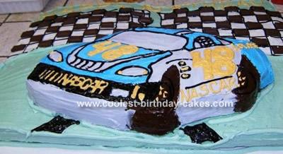 NASCAR Race Cake