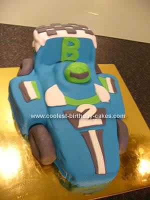 Super Coolest Racing Car Birthday Cake Funny Birthday Cards Online Elaedamsfinfo