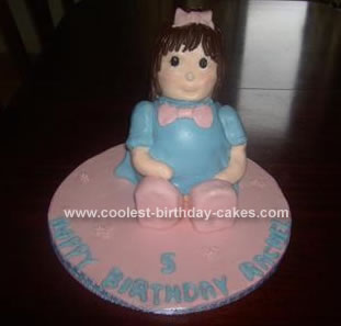 Homemade Rag Doll Cake