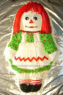 Homemade Ragetty Ann Cake
