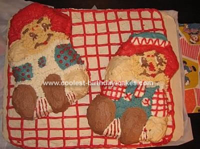 Raggedy Ann and Andy Cake