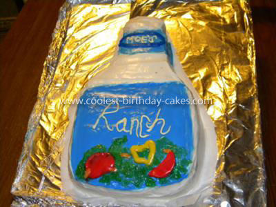 Homemade Ranch Salad Dressing Cake