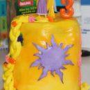 Homemade Rapunzel Lantern Birthday Cake