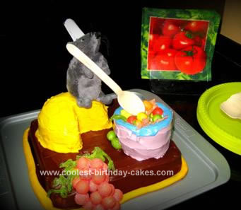 Homemade Ratatouille Cake