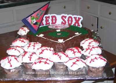 Coolest Red Sox Cake