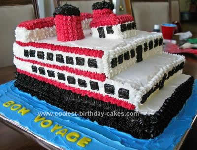 Homemade Riverboat Cake