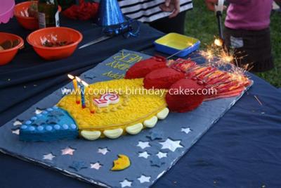 Coolest Rocket Cake