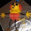 Homemade Rolie Olie Polie Cake