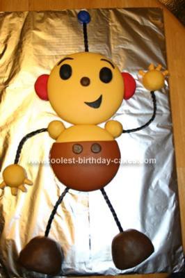 Homemade Rolie Polie Olie Cake