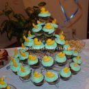 Homemade Rubber Ducky Cupcakes
