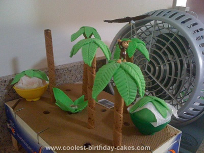 Homemade Safari Cake
