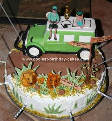 Safari Wagon Cake