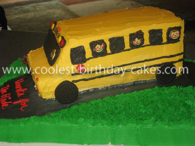 Coolest School Bus Cake