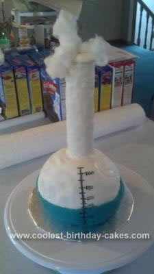 Homemade Science Cake
