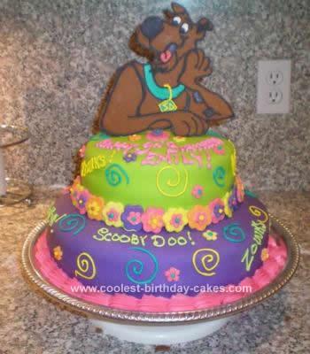 Coolest Scooby Doo Birthday Cake