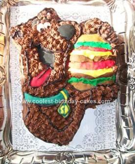 Homemade Scooby Doo Cake