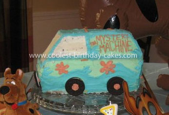 Scooby Doo Mystery Machine Cake
