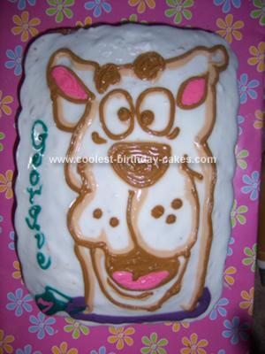 Homemade Scooby Doo Cake l