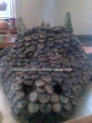Homemade Scottish Dragon Cake