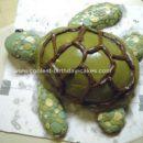 Homemade Sea Turtle Cake Idea