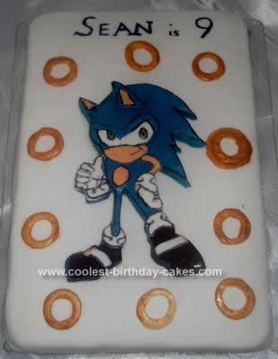 Homemade Sean's Sonic Cake