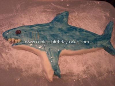 Coolest Shark Cake