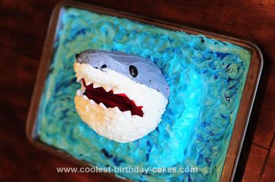 Homemade Shark Cake