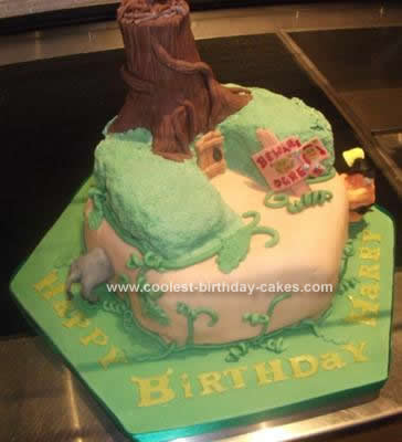 Marvelous Coolest Shrek Birthday Cake Funny Birthday Cards Online Elaedamsfinfo