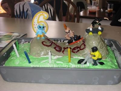 Terrific Coolest Homemade Skateboarding Cakes Funny Birthday Cards Online Elaedamsfinfo