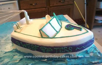 Incredible Coolest Homemade Boats And Ships Cakes Birthday Cards Printable Trancafe Filternl