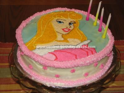 Magnificent Coolest Sleeping Beauty Cake Personalised Birthday Cards Paralily Jamesorg