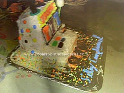 Homemade Slot Machine Cake Design