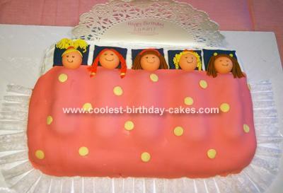 Magnificent Coolest Slumber Birthday Cake Personalised Birthday Cards Veneteletsinfo