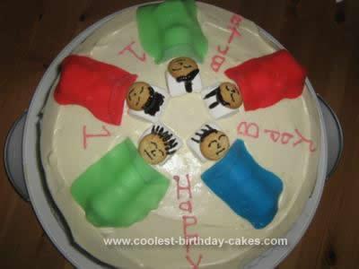 Homemade Slumber Birthday Cake Idea