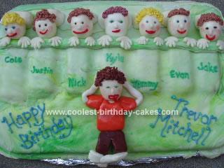 Brilliant Coolest Slumber Party Birthday Cake Funny Birthday Cards Online Inifodamsfinfo