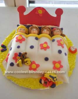 Homemade Slumber Party Cake