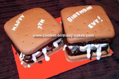 Coolest Smores Cake Design