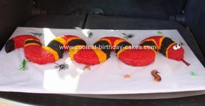 Homemade Snake Cake 28